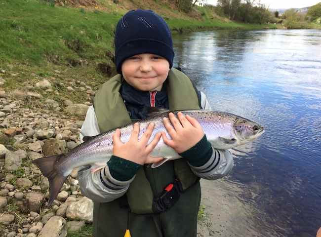 Salmon Fishing Trips For Kids