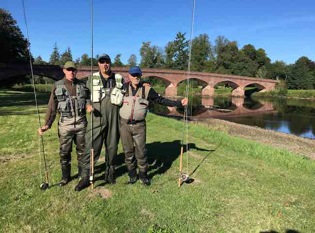 Book Scottish Salmon Fishing