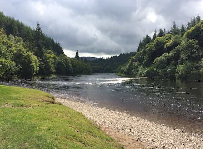 The River Tay Scenery