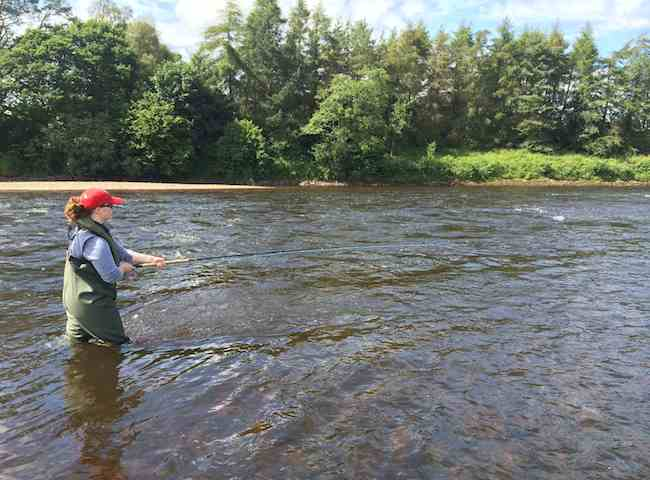 River Tay Salmon Fisher