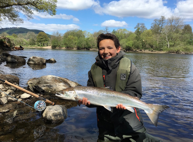 Family Salmon Fishing Trips