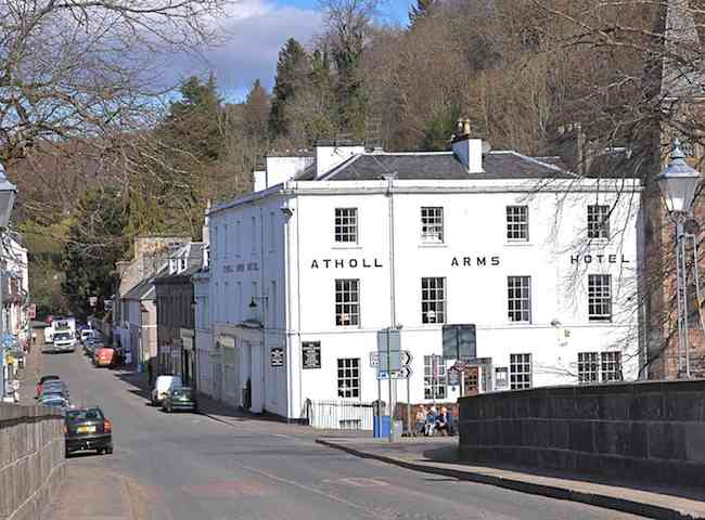 The Atholl Arms In Dunkeld