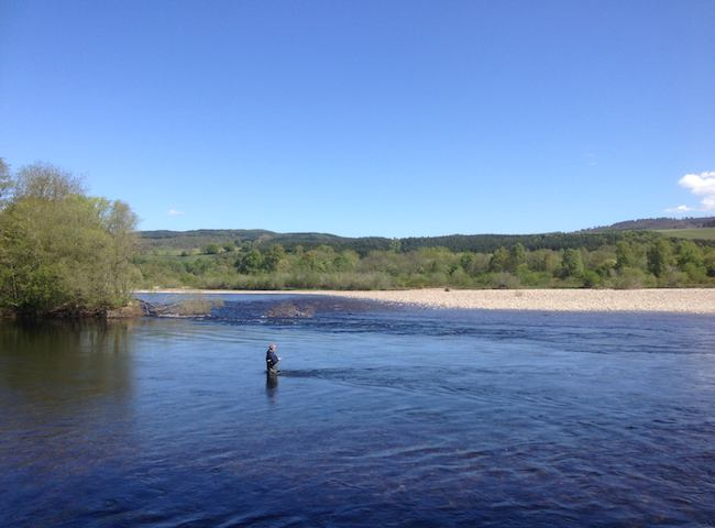 River Tay River Tummel Confluence