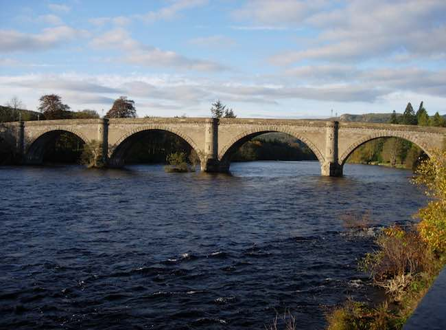 The Tay's Telford Bridge