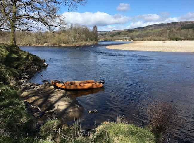The River Tay River Tummel Confluence