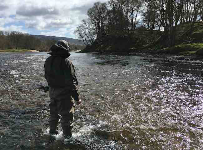 With the recent low water conditions across Scotland this truly represents a period where you get to observe the magnificent salmon pool formations and differing stream flows and glides.
