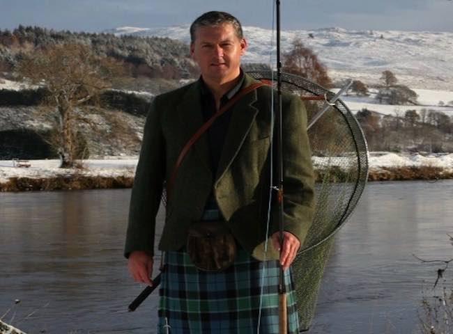 Jock Monteith Salmon Fishing