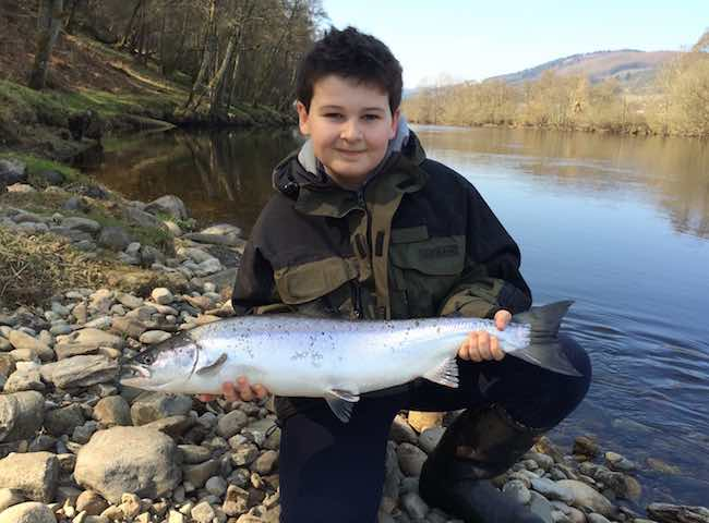 Salmon Fishing For Kids
