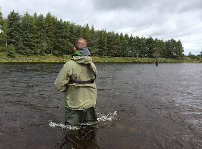 River Tay Fishing Trip Success