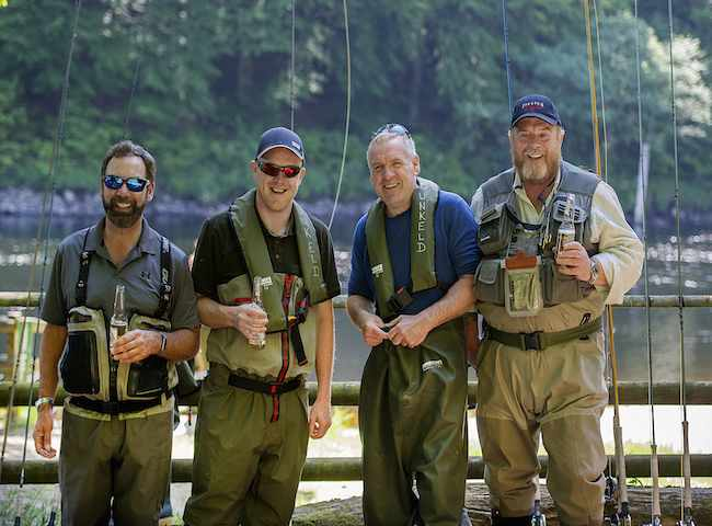 Salmon Fishing Friends