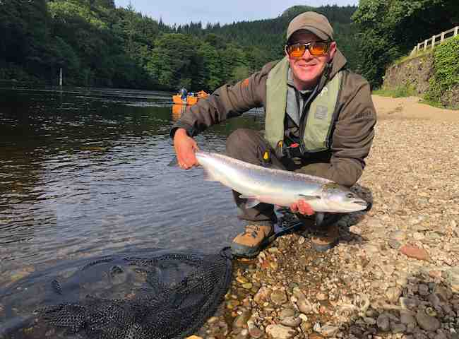 Perfect Scottish Summer Salmon