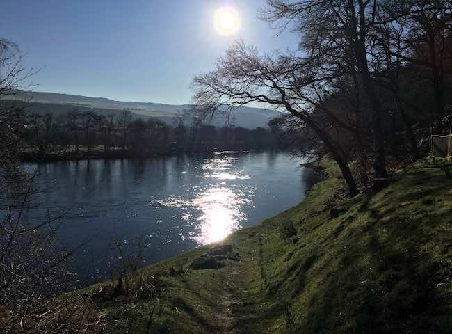 Personally I love a flicker of sunlight on the water through the early Spring salmon fishing months in Scotland. That sunlight brings an element of warmth that assists salmon movement when the river has been running cold through January, February & March.
