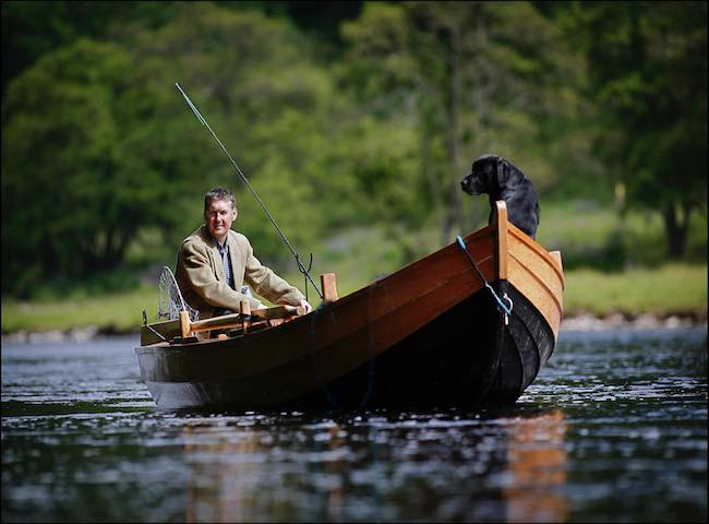 The professional Scottish salmon fishing guides are a truly amazing breed of men who have dedicated their lives to the Scottish salmon rivers. They offer information on all aspects of salmon holding information and the migration flight paths during all of the differing water conditions.