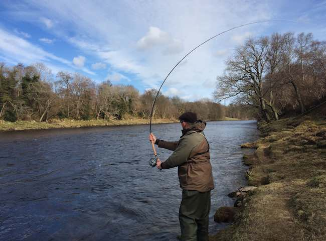 There's nothing more satisfying than empowering a through actioned Spey rod correctly to deliver an elegant fly out across a Scottish salmon river. Learn how to perform this traditional salmon fly fishing cast from one of our top professional salmon fishing instructors.
