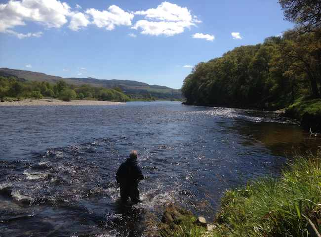 If you like the outdoors then it would be a shame to visit Scotland and not take at least one day of your itinerary schedule to enjoy a fascinating day on Scotland's main salmon river with a fly rod in your hand.