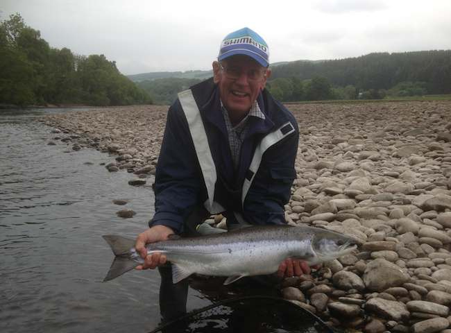 Fishers Come From All Over The World To Catch A Scottish Salmon