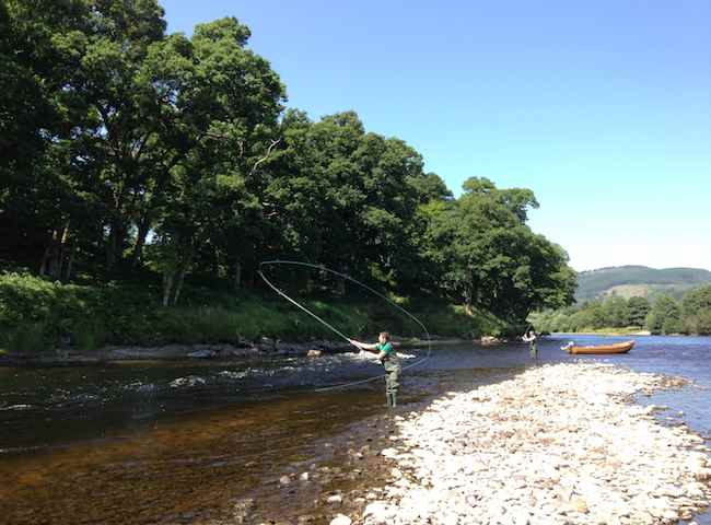 Catch A Salmon On A Scottish Fishing Trip