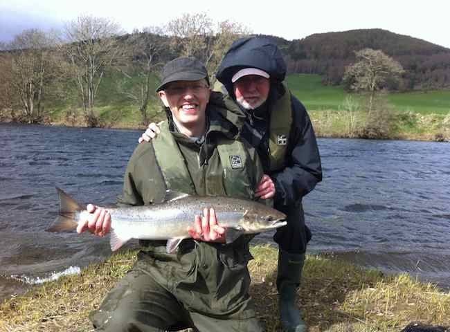 Your First Scottish Salmon Is Always A Very Special Moment