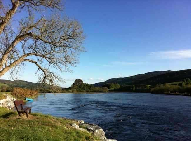 Spectacular Scenery On The Salmon Rivers Of Scotland