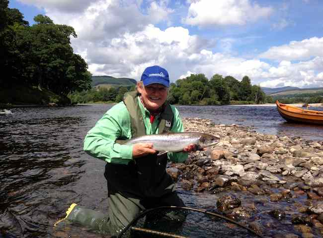Catching Your First Salmon On A Fishing Trip In Scotland