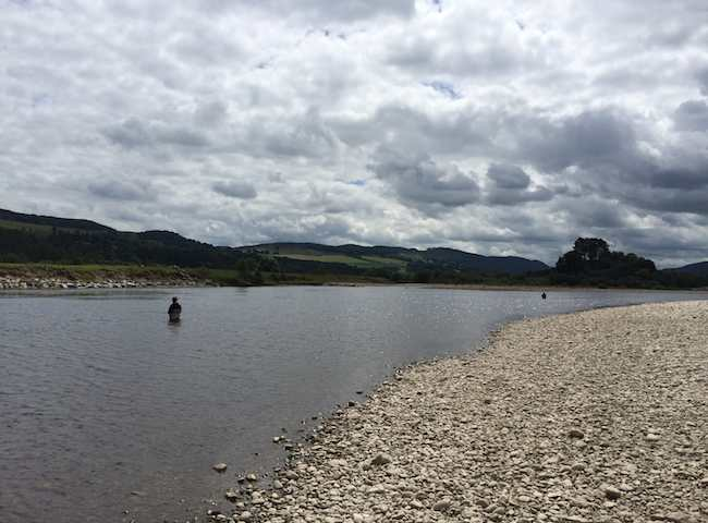 Catching Salmon On Scottish Rivers