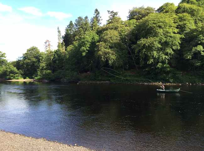 Cast your Salmon Fly On A Scottish River