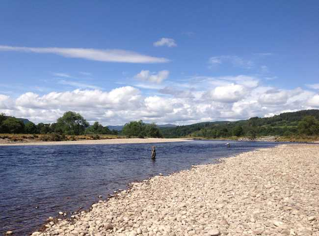 Fly Fish The Scottish Rivers For Salmon