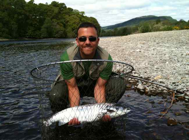 Catch One Of These Fine Scottish Salmon On Holiday In Scotland