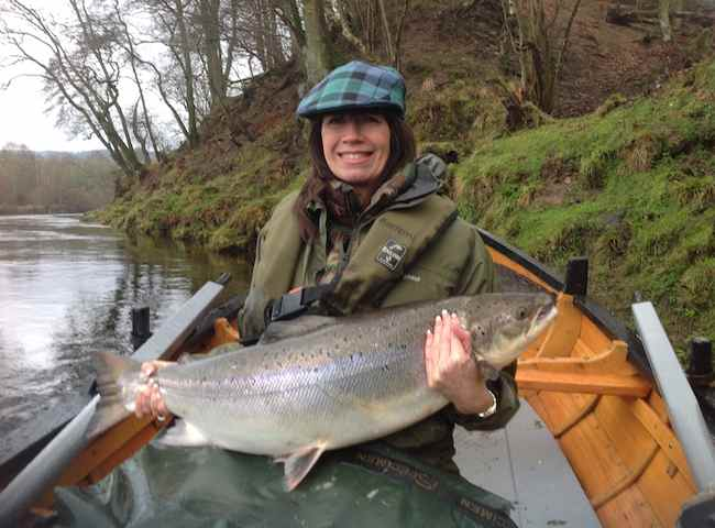 Salmon Fishing Holidays In Scotland For All The Family