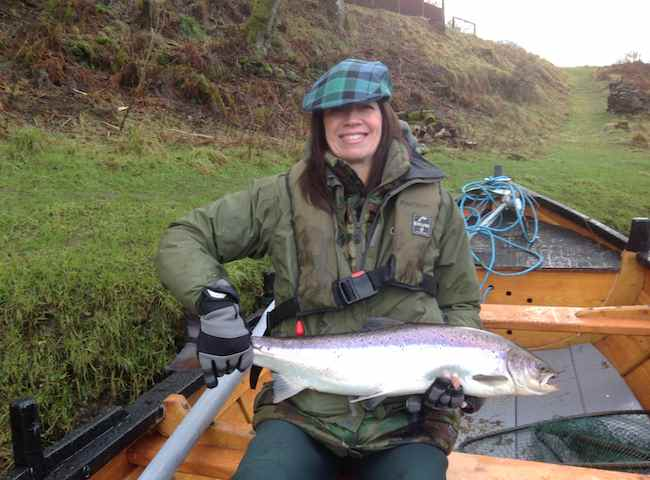 Fishing Success Comes Easy For Lady Salmon Anglers