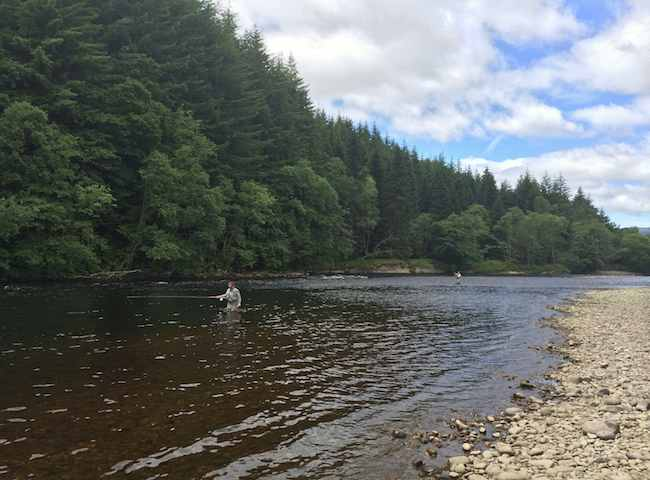 Take A Salmon Fishing Break In Scotland