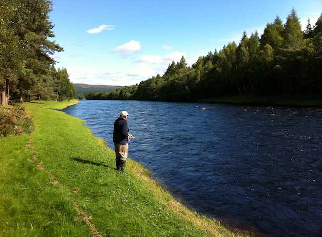 The River Spey Is Probably The Most Famous Salmon Fishing River In The World