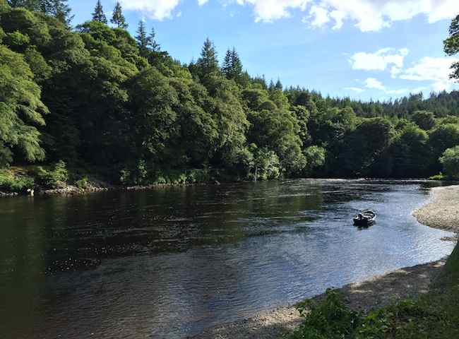 This Is The River Tay At Dunkeld