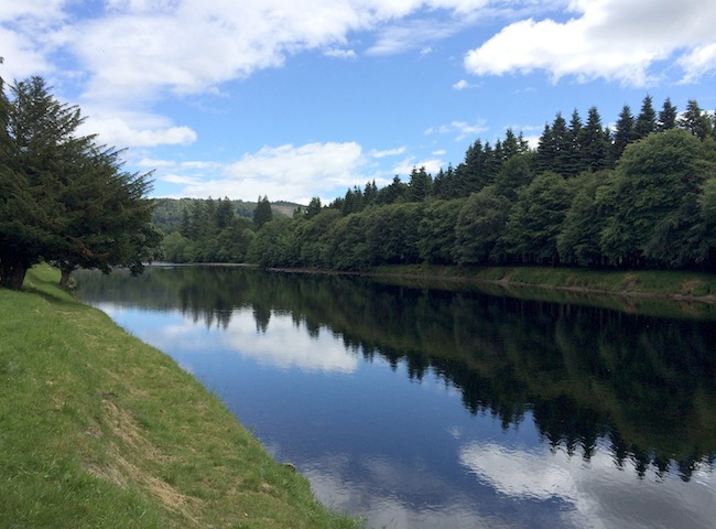 Here's Another Perfect Scene From The River Tay In Scotland