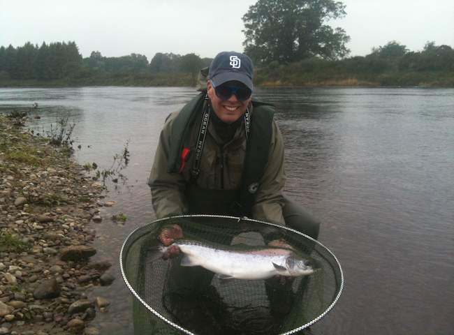 Scottish Salmon Rivers During The Autumn Months