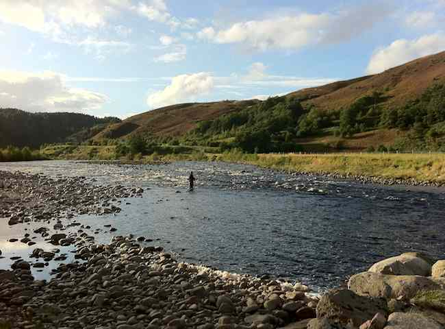 Many Perfect Salmon Rivers Are To Be Found In Scotland