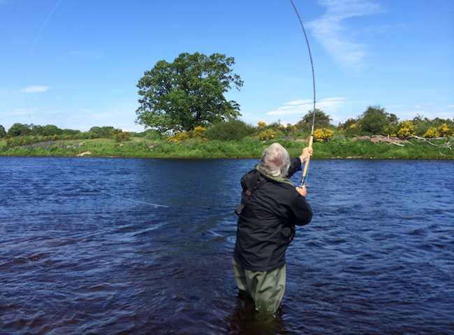 The Traditional Scottish Spey Cast