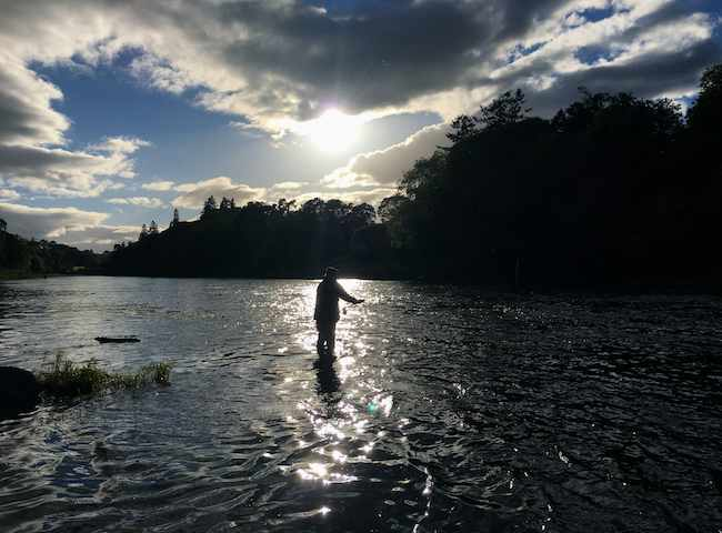 River Tay Autumn Fishing
