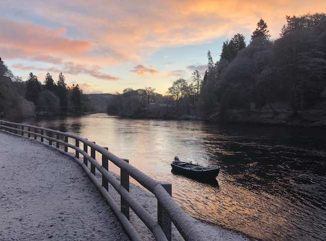 The River Tay At Dunkeld