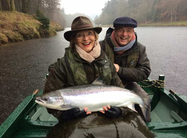 March Salmon Fishing