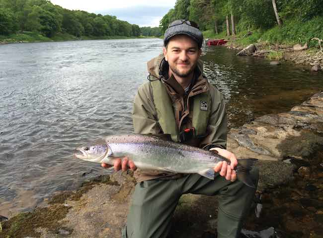 River Tay Fly Casting