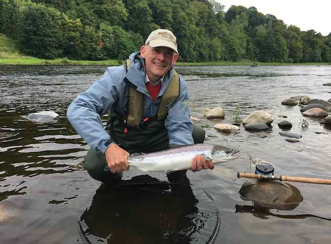 Fresh Run River Tay Salmon