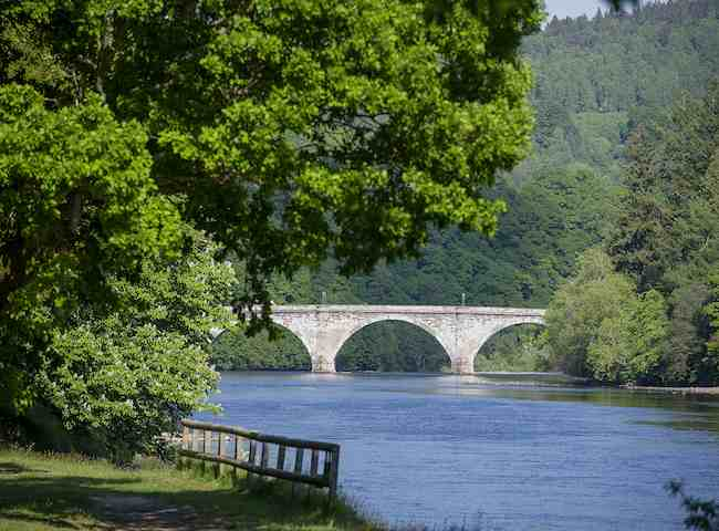 The Highly Scenic River Tay