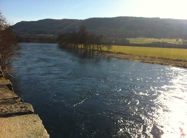 Fishing For Spring Salmon In Scotland