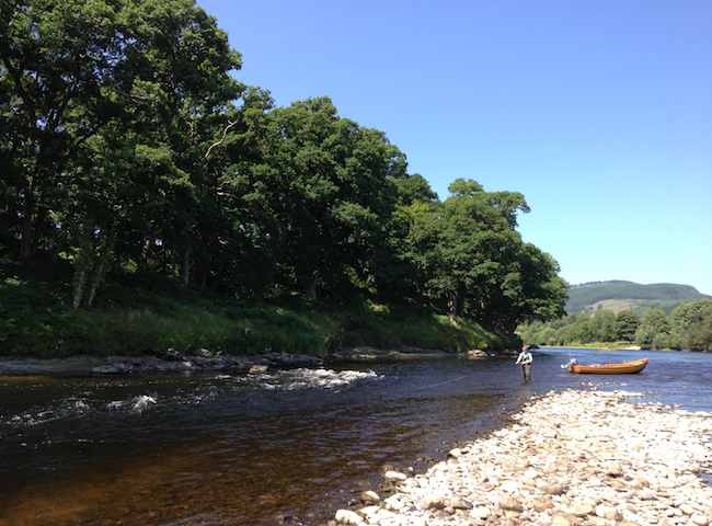 Some Of The Most Perfect Salmon Rivers Are Located In Scotland