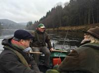 River Tay Salmon Boat Fishing Tactics