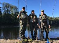 Fishing The Salmon River With Friends