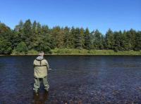 Fishing For Autumn Salmon On The Tay