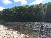 A Day On A Scottish Salmon River