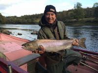 Autumn Salmon Fishing In Scotland